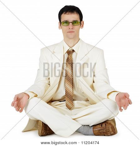 Businessman In Light Suit - Original Way Relaxes