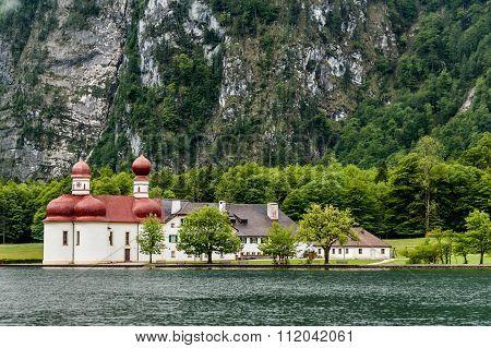 Monastery Of St.bartholomä, Germany