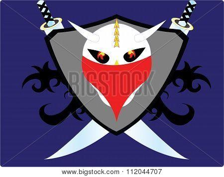 the cool skull logo