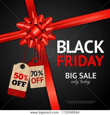 Poster Of Black Friday Sale