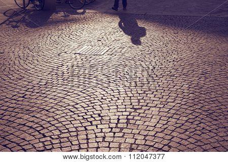 Milan Pavement Shadows