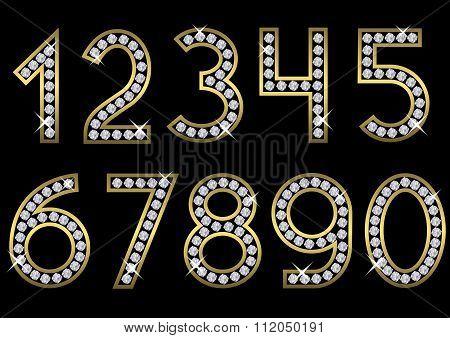 Golden number set