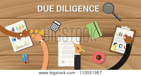 due diligence business graph data analysis