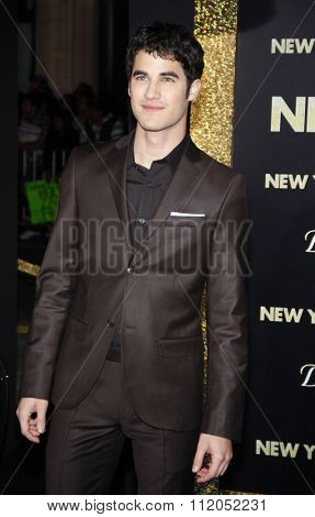 Darren Criss at the Los Angeles Premiere of