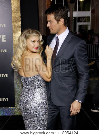 Fergie and Josh Duhamel at the Los Angeles Premiere of