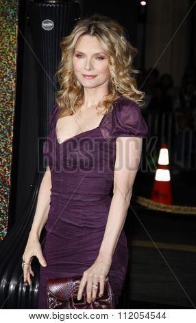 Michelle Pfeiffer at the Los Angeles Premiere of