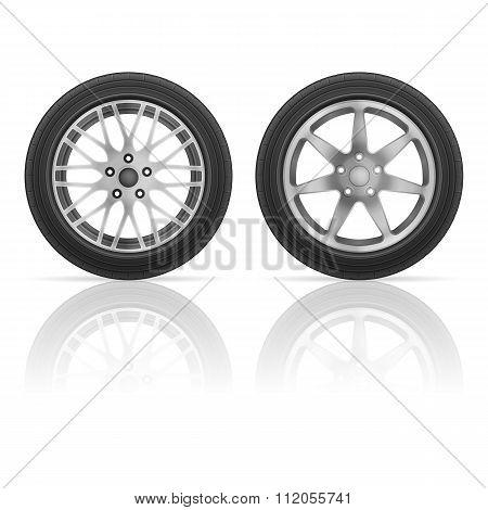 Car Wheel Tire Se