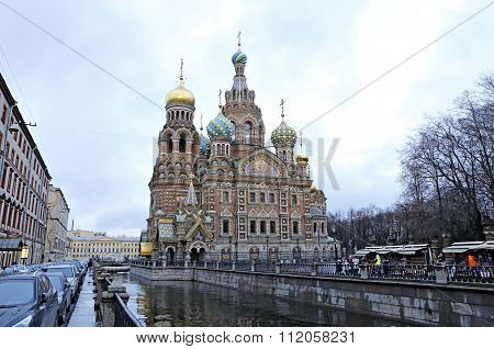 Cathedral Of The Resurrection On Spilled Blood (church Of Our Savior On The Spilled Blood)