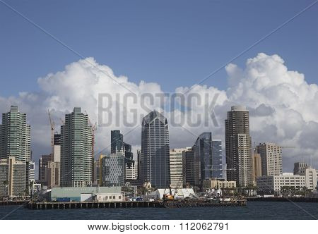Port of San Diego Skyline