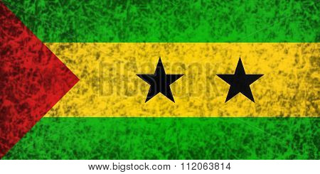 Flag Of Sao Tome And Principe.