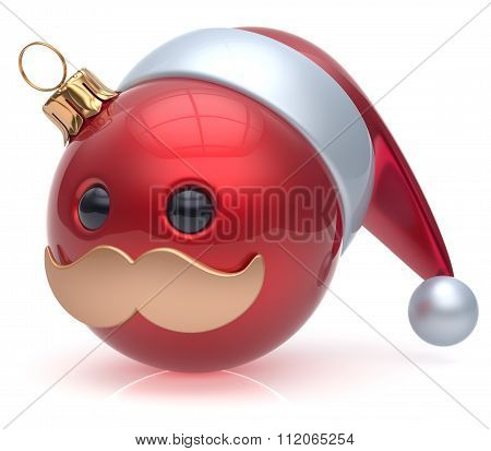 Emoticon Christmas Ball New Year's Eve Bauble Santa Avatar
