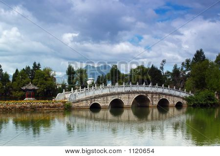 A Park In Historic Lijiang Old Town