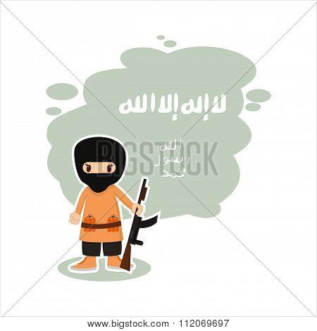 flat guy is a terrorist