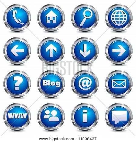 Internet Button Icons