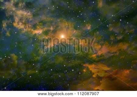 Universe Deep Space Star Nebula