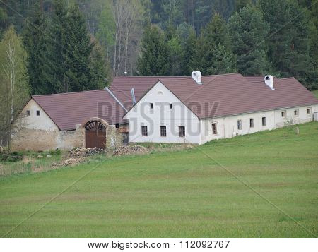 Reconstruction Of The Historic Farmhouse, South Bohemia