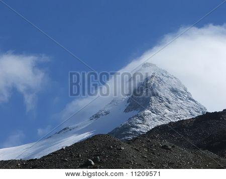The Fletschhorn summit.
