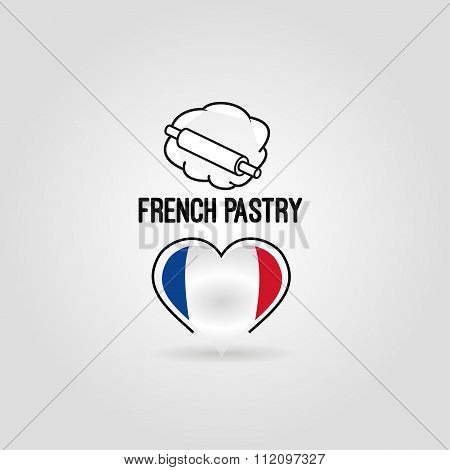 French pastry icon