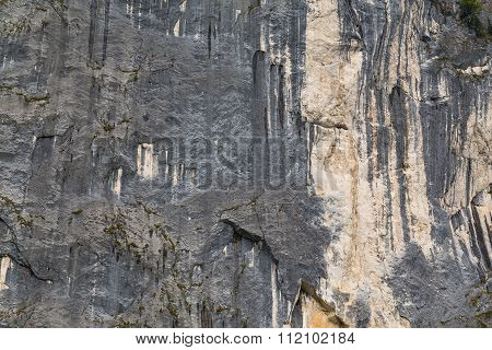 Limestone Rock Face Background