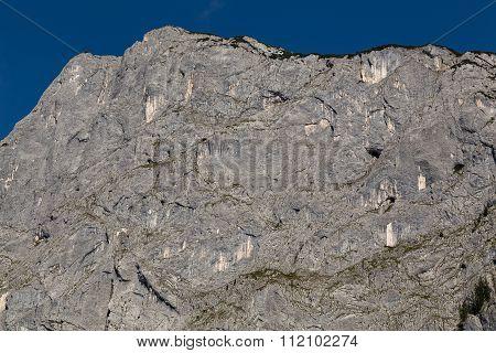 Limestone Rock Face Background