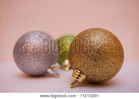 Christmas tree decoration balls
