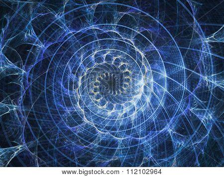 Accidental Spiral Pattern