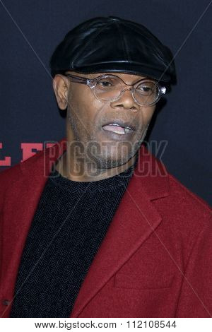 LOS ANGELES - DEC 7:  Samuel L. Jackson at the