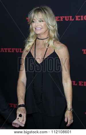 LOS ANGELES - DEC 7:  Goldie Hawn at the