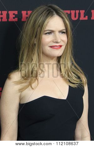 LOS ANGELES - DEC 7:  Jennifer Jason Leigh at the