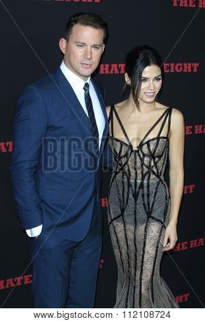 LOS ANGELES - DEC 7:  Channing Tatum, Jenna Dewan-Tatum at the