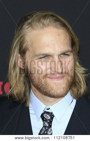 LOS ANGELES - DEC 7:  Wyatt Russell at the