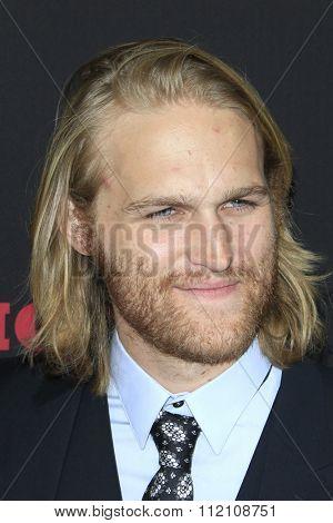LOS ANGELES - DEC 7:  Wyatt Russell at the