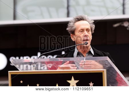 LOS ANGELES - DEC 10:  Brian Grazer at the Ron Howard Star on the Hollywood Walk of Fame at the Hollywood Blvd on December 10, 2015 in Los Angeles, CA