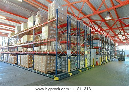 Automated Shelving Storage