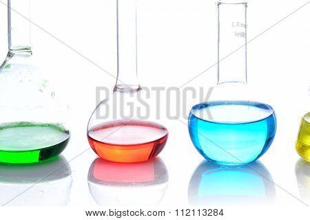 Chemical Laboratory Flask