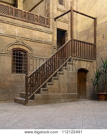 CAIRO, EGYPT - December 19: Courtyard Of Zeinab Khatoun House. A Historic House In Old Cairo, Egypt
