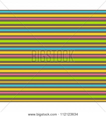 Bright abstract lines seamless pattern