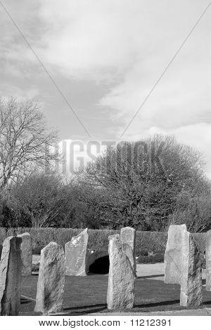 Ancient Gaelic Standing Stone Circle