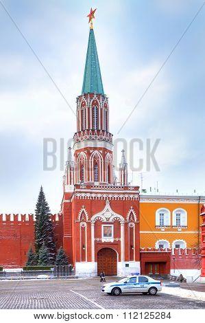 Kremlin. Nikolskaya Tower