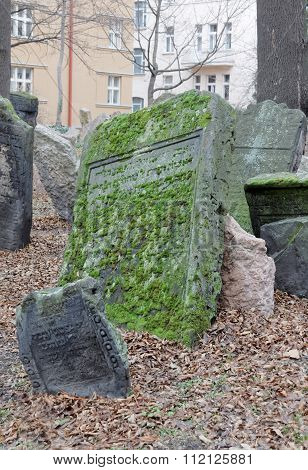 Old Jewish Cemetery And Houses, Prague