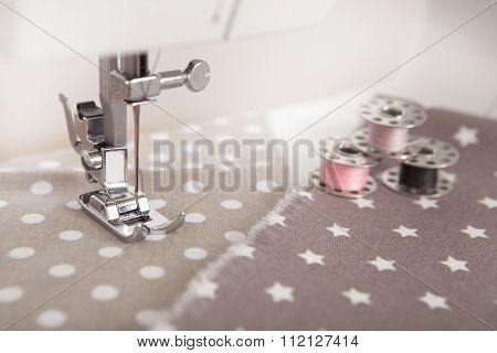 Sew With Sewing Machine
