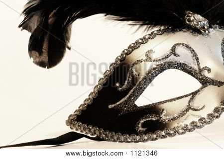 Mask On White