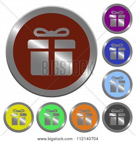 Color Gift Buttons