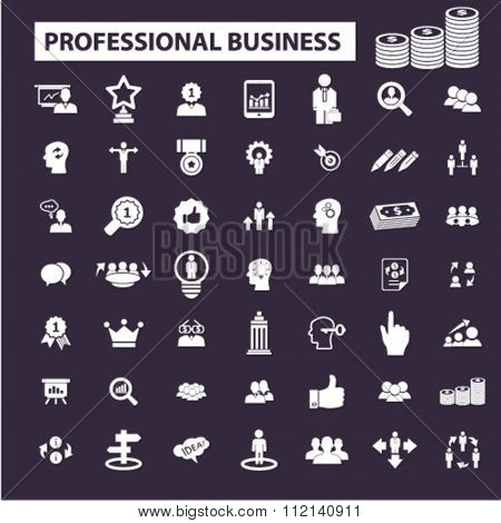 professional business, money, strategy, organization, company, marketing, market  icons, signs vector concept set for infographics, mobile, website, application
