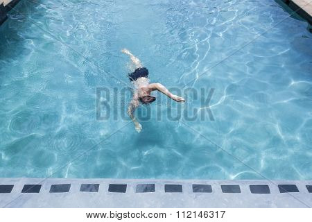 Teenager Swimming Pool