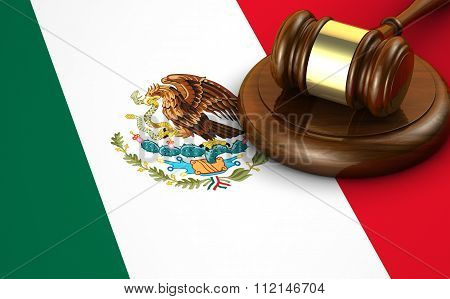 Mexico Law And Legislation Concept