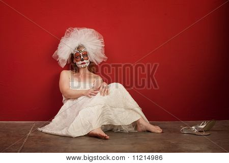 Sad All Souls Bride