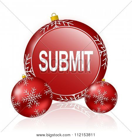 submit christmas icon