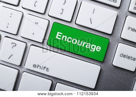 Encourage Button On Keyboard