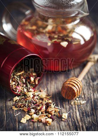 Dragonfruit Herbal Tea.